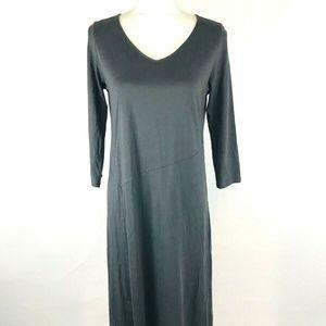 Pure Jill J Jill Womans Maxi Dress Sz XS Gray One